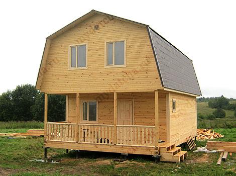 Дом из бруса 6х10