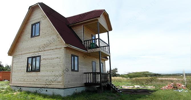 Брусовой дом 6х9