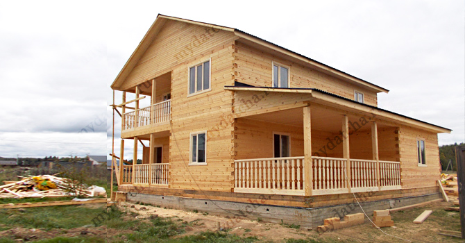 Дом из бруса 10х11