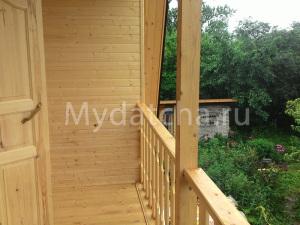 Балкон в бане