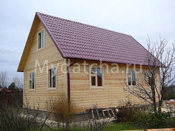 Дом из бруса 6х9 (Д48)