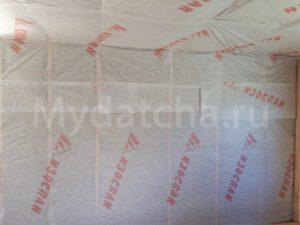 Влагогидроизоляция стен мансарды