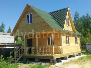 Дом из бруса 6x8-3