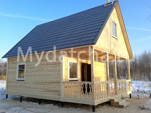 Дом из бруса 6x8-5