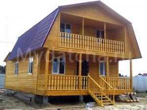 Дом из бруса 7x12